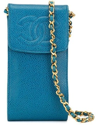 Chanel Pre Owned mini CC chain crossbody bag