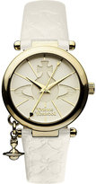 Vivienne Westwood VV006WHWH gold-toned leather watch