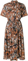 Paul & Joe tiger print shirt dress