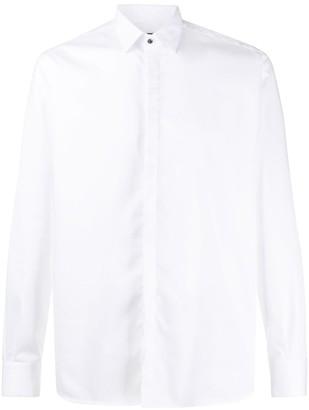 Karl Lagerfeld Paris Hidden Placket Shirt