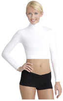 Capezio Women's Dance Turtleneck Long Sleeve Top