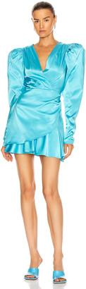 Rotate by Birger Christensen Aiken Dress in Bachelor Button | FWRD