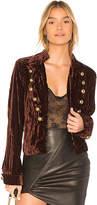 Nightcap Clothing Sgt. Breasted Velvet Blazer