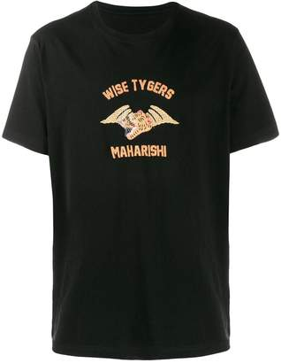 MHI embroidered T-shirt