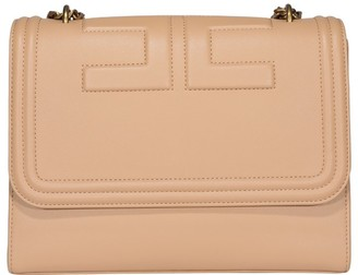 Elisabetta Franchi Logo Embossed Shoulder Bag
