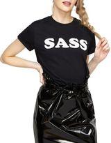 Miss Selfridge Sass Cotton Tee