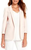 Wallis Women's Ribbed Ponte Blazer