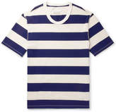 Maison Margiela Oversized Striped Cotton-Jersey T-Shirt