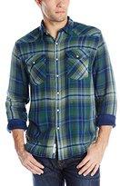 Lucky Brand Men's Muir Indigo Western Shirt