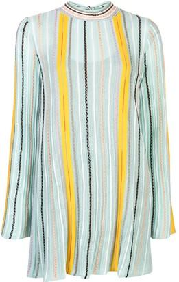 M Missoni striped jumper dress