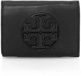 Tory Burch Medium Milller Tri-Fold Leather Wallet