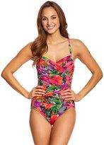 Penbrooke Style Sense Surplice One Piece Swimsuit 8150421