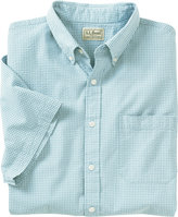 L.L. Bean Seersucker Shirt, Short-Sleeve Gingham