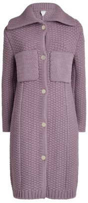 Bottega Veneta Wool-Rich Knitted Cardigan