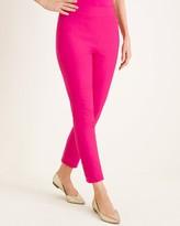 BRIGITTE So Slimming Button-Hem Ankle Pants