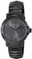 Versus By Versace Women's SGP050013 Byzantium Analog Display Japanese Quartz Black Watch