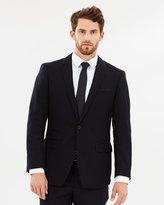 TAROCASH Gibson Trim Suit - Black - 34