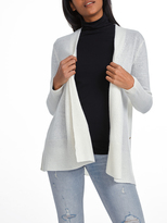 White + Warren Cashmere Crossover Cardigan