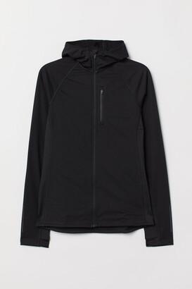 H&M Hooded Running Jacket - Black