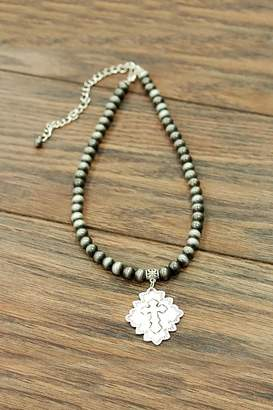 Jchronicles Cross Charm Necklace