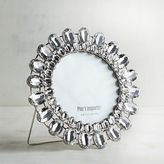 Pier 1 Imports Silver Jeweled 4x4 Photo Frame