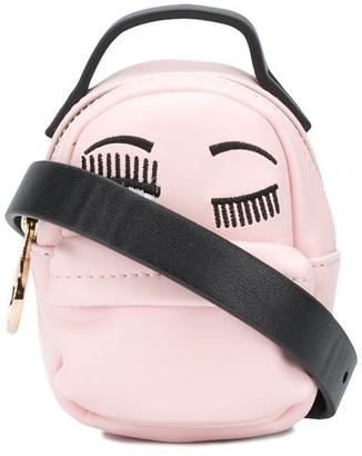 Chiara Ferragni Flirting embroidered mini bag