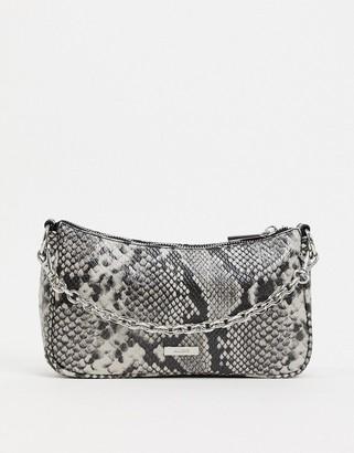 Aldo olieri shoulder bag with chain strap