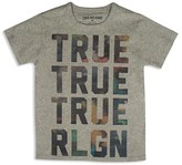True Religion Boys' Colorful Clouds Brand Tee - Sizes 2T-7