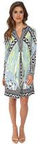 Hale Bob Sandstorm Sophisticate Long Sleeve Signature Dress