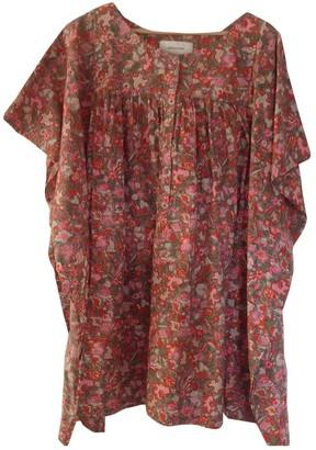 Madame à Paris Multicolour Cotton Dress for Women