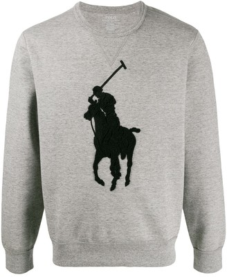 Polo Ralph Lauren Oversize Logo-Embroidered Jumper