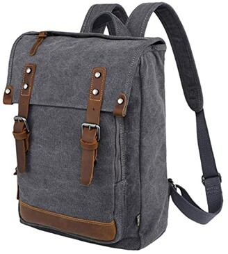 TSD BRAND Discovery Canvas Backpack