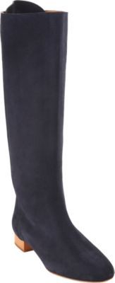 Chloé Suede Pull-On Knee Boot