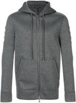 Helmut Lang pouch pocket zip hoodie - men - Modal - S