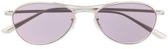 Oliver Peoples Aviator Sunglasses