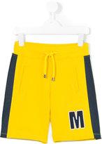 MSGM two tone track shorts - kids - Cotton - 8 yrs