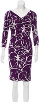 Tory Burch Cowl Neck Silk Dress