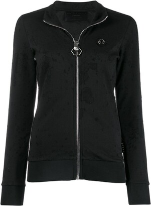 Philipp Plein Distressed Jogging Jacket