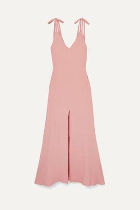 Vanessa Cocchiaro The Aretha Crepe Maxi Dress - Pink