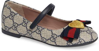 Gucci 'Erin' Mary Jane Flat