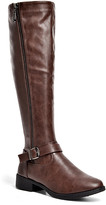 Mila Louise J. Mark Women's Casual boots BROWN - Brown Buckle-Strap Boot - Women