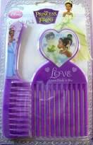 Disney The Princess And The Frog Comb & Pick Set - Love Always Finds A Way (Purple)