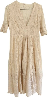 Free People Ecru Lace Dresses
