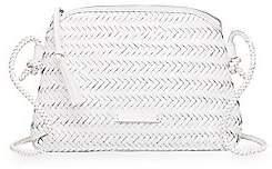 Loeffler Randall Women's Mallory Woven Leather Crossbody Bag