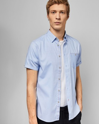 Ted Baker Cotton Short Sleeved Shirt