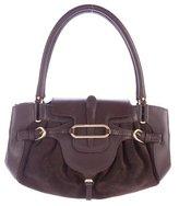 Jimmy Choo Tulita Leather & Suede Bag