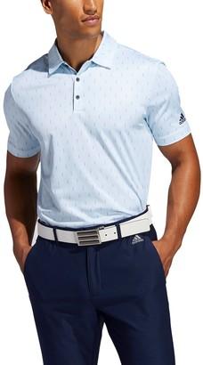 adidas Men's Novelty Print Golf Polo
