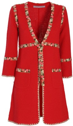 The Extreme Collection Red Long Jacket Nieves