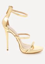 Bebe Marabel 3-Strap Sandals