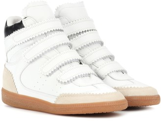 Isabel Marant Bilsy leather sneakers